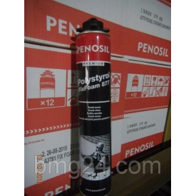 Клей-пена Penosil Polystyrol FixFoam для пенопласта 1000 мл