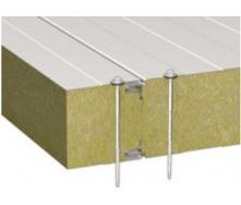Стеновая сэндвич-панель Стилма 60 мм с наполнителем минеральная вата