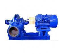 Насосный агрегат двустороннего входа Д 320-50 правосторонний с двигателем 55 кВт 1500 об/мин