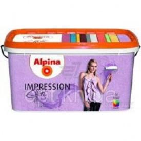 Аlpina Accent Silhouette Impression Weiss 10lt Краска структурная (810721)