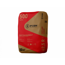 Цемент ПЦ I-500Р-Н 25 кг (Ивано-Франковск)