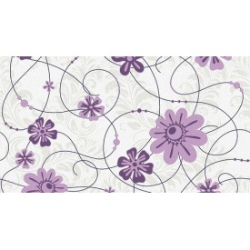 Обои на бумажной основе Шарм 138-06 Анабель Декор розово-фиолетовые 0,53х10 м