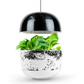 Розумний домашній сад Plantui Moomin Garden чорний (SGM-B)
