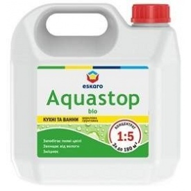 Антиплесневая грунтовка Eskaro Aquastop Bio 3 л