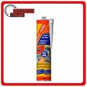Sikaflex-11 FC+ поліуретановий клей-герметик для вертикальних і горизонтальних швів тріщин сполук сірий 300 мл