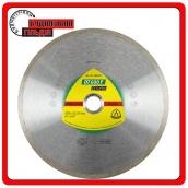 Алмазні відрізні диски для кутових шлифмашинок для керамічних виробів кахель глазурована плитка DT 600 F Supra