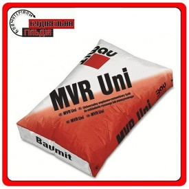 MVR- Uni белая цементно-известковая штукатурн. смесь на основе перлита 25 кг
