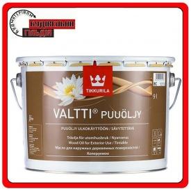 Масло для защиты наружных деревянных поверхностей Valtti Puuoljy базис ЕC 9 л