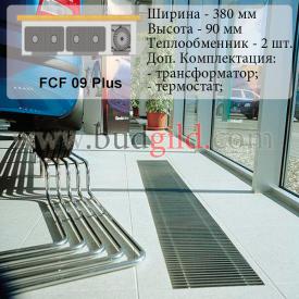 Внутрипольный конвектор FCF 09 Plus 12v 1000 мм
