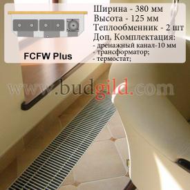 Внутрипольный конвектор FCFW Plus 12v 1000 мм