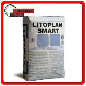 Цементна штукатурка швидкого тужавлення та висихання Litoplan Smart 25 кг