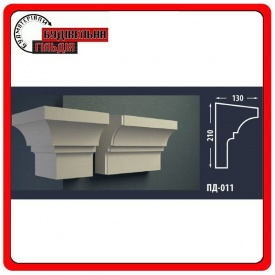 Подоконник для фасада FASTROCK ПД-011 2 метра