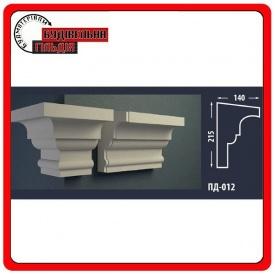 Подоконник для фасада FASTROCK ПД-012 2 метра