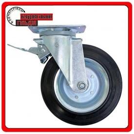 Комплект колес 200 поворотное с тормозом