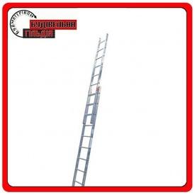 Двухэлементная выдвижная лестница Krause Fabilo 2x18 ступеней