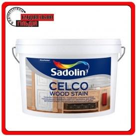 Колеруемая морилка для дерева CELCO WOOD STAIN Sadolin 2,5л