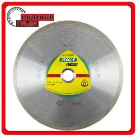 Алмазные отрезные диски для угловых шлифмашинок для керамических изделий кафель глазурованная плитка DT 600 F Supra