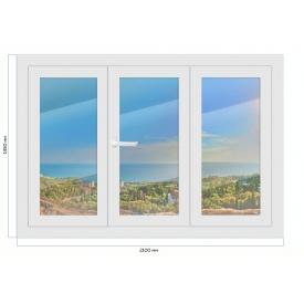 Металопластикове вікно Steko S500
