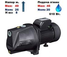 Насос центробежный самовсасывающий JSP-100A Sprut 40/25 м 20-45 л/мин 220 В 610 Вт