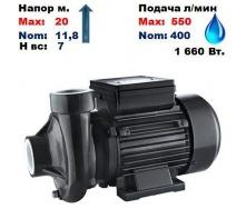Насос центробежный 2DK20 Sprut 20/11,8 м 400-550 л/мин 220 В 1660 Вт