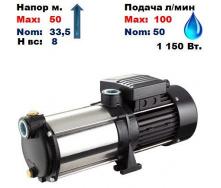 Насос центробежный многоступенчатый MRS-S5/AISI316 Sprut 50/33,5 м 50-100 л/мин 220 В 1150 Вт