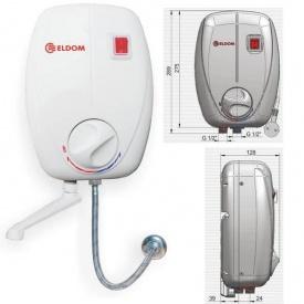 Проточный водонагреватель BETTA Кран 6500 Вт