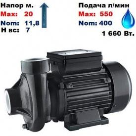 Насос відцентровий 2DK20 Sprut 20/11,8 м 400-550 л/хв 220 В 1660 Вт