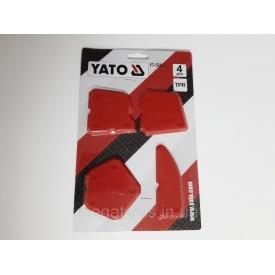 Набір шпателів Yato 4 шт