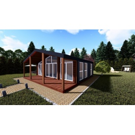 Дом для отдыха и проживания СКАНДИ III 67 м2