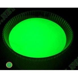 Светящийся люминисцентный порошок Просто и Легко 20 г темно-зеленый