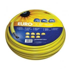 Шланг садовый Tecnotubi Euro Guip Yellow для полива 1/2 дюйма 25 м (EGY 1/2 25)
