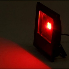 Світлодіодний прожектор LED 30Вт 620-630nm червоний IP66
