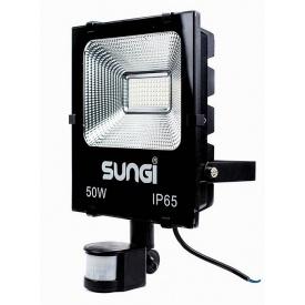Світлодіодний прожектор LED SUNGI 50W з датчиком