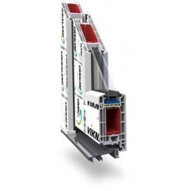Дверна профільна система Viknaland 58 58 мм 110х220 см
