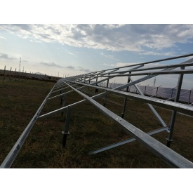 Опорные металлоконструкции для солнечных электростанций