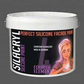 Фасадна фарба SILACRYL 10 л