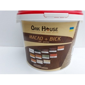 Масло-воск Oak House 3л Тик
