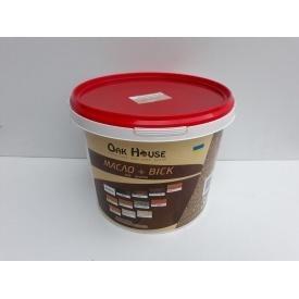 Масло-воск Oak House для пропитки древесины внутри и снаружи 5 л Дуб