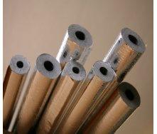 Утеплювач для труб Tubex в алюмінієвій фользі 114(20) мм
