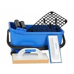 Комплект для укладки керамической плитки №3 решетка+ролики+2 терки