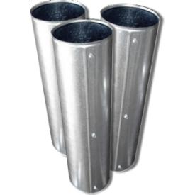 Кожух 114(50) из оцинкованной стали