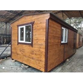 Дерев'яний каркасний будинок 6-3