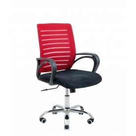 Кресло офисное Richman Flash Armchair 940х1030х490х520 мм красная сетка -сидение черное