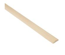Притворная планка СК Комфорт гладкая 1 сорт 8х20 мм 2 м