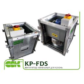 Вентилятор канальний для кухонь KP-FDS-40-40-9-2,5-2-380