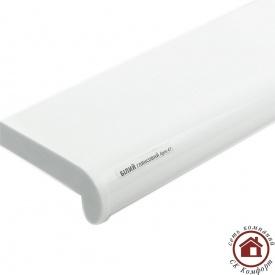Пластиковые подоконники Plastolit 200 мм Белый глянец