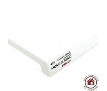 Підвіконня Topalit Mono Classic 400 мм Сніжно білий матовий (406)