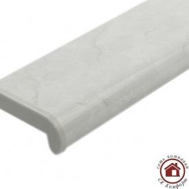 Пластикові підвіконня Plastolit 100 мм Сірий мармур глянець