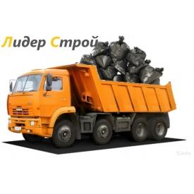 Вывоз любого вида мусора КАМАЗом