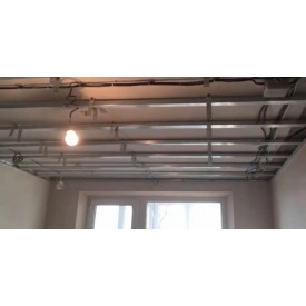 Устройство потолков и стен из гипсокартона